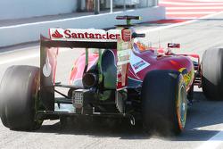 Fernando Alonso, Ferrari F14-T rear wing