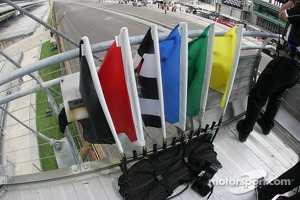 Flags in the flagstand