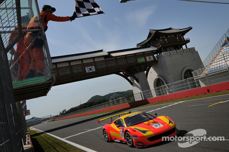 Spirit of Race Ferrari 458 Italia GT3: Anthony Liu and Davide Rizzo