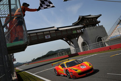 GT: Spirit of Race Ferrari 458 Italia GT3: Anthony Liu and Davide Rizzo