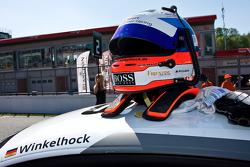Markus Winkelhock's crash helmet