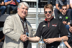 Will Power gets his starter's ring