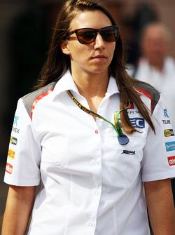 Simona de Silvestro, Sauber F1 Team Test Driver