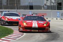 #64 Scuderia Corsa Ferrari 458 Italia: Stefan Johansson & Kyle Marcelli