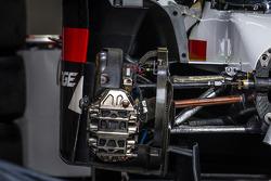 Audi Sport Team Joest Audi R18 E-Tron Quattro brake details