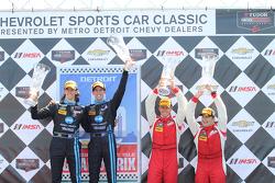 Prototype winners - Ricky Taylor, Jordan Taylor  GTD winnwers - Alessandro Balzan & Jeff Westphal
