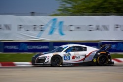 #48 Paul Miller Racing Audi R8 LMS: Christopher Haase & Germany Bryce Miller