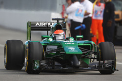 Alexander Rossi, Caterham CT05 Reserve Driver