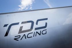 Thiriet By TDS Racing paddock area
