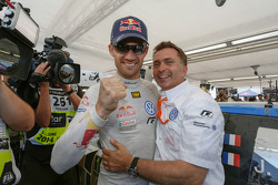 Winner Sébastien Ogier with Jost Caputo