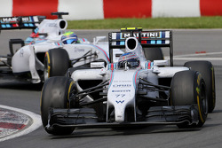 Valtteri Bottas, Williams F1 Team and Felipe Massa, Williams F1 Team  08