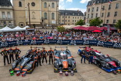 #26 G-Drive Racing Morgan - Nissan: Roman Rusinov, Olivier Pla, Julien Canal; #35 OAK Racing Ligier - Nissan: Alex Brundle, Jann Mardenborough, Mark Shulzhitskiy; #33 OAK Racing - Team Asia Ligier JS P2 - HPD: David Cheng, Ho-Pin Tung, Adderly Fong