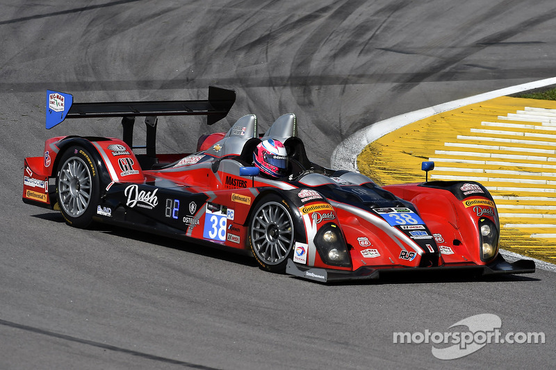 #38 Performance Tech Motorsports ORECA FLM09 Chevrolet: David Ostella