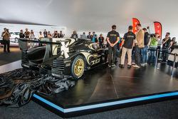 Lotus T129 LMP1 presentation: Pierre Kaffer, Christophe Bouchut and Christijan Albers with the new Lotus T129 LMP1