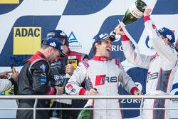Podium: Markus Winkelhock celebrates