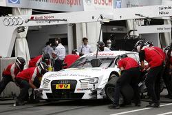 Pitstop, Nico Muller, Audi Sport Team Rosberg Audi RS 5 DTM