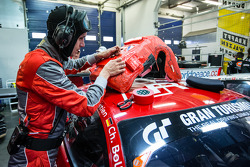 Audi Race Experience team member
