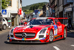 #1 Black Falcon Mercedes-Benz SLS AMG GT3