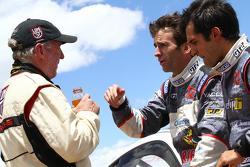 Jeff Zwart, Romain Dumas and Vincent Beltoise talk on the summit
