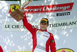 TP podium: race winner Ricardo Perez