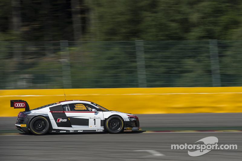 #1 Belgian Audi Club Team WRT Audi R8 LMS Ultra: Rene Rast, Laurens Vanthoor, Laurens Vanthoor