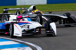 FORMULA-E: Franck Montagny, Andretti Autosport and Oriol Servia, Dragon Racing