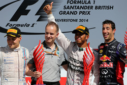 Valtteri Bottas, Williams F1 Team, Lewis Hamilton, Mercedes AMG F1 Team Daniel Ricciardo, Red Bull Racing