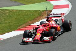 F1: Jules Bianchi, Ferrari F14-T Test Driver