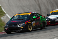 #73 Compass360 Racing Honda Civic: Tom Kwok, Gary Kwok