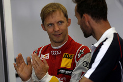 DTM: Mattias Ekström, Audi Sport Team Abt Sportsline, Audi A5 DTM with Sven Hannawald