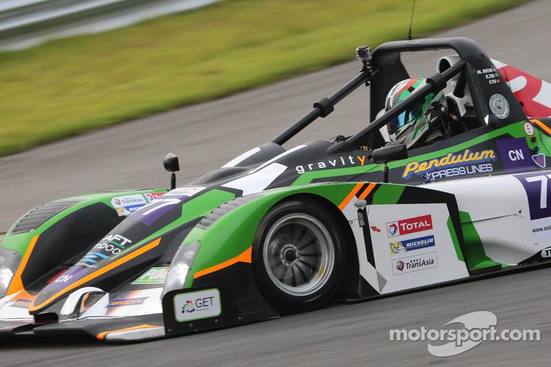 #77 Ligier JS-53 Evo CN Prototype: Mathias Beche, Kevin Tse, Frank Yu