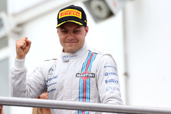 F1: Podium: second place Valtteri Bottas