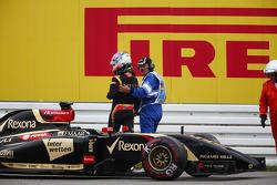 F1: Romain Grosjean, Lotus F1 E22 retired from the race
