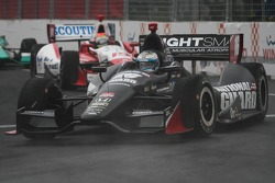 INDYCAR: Luca Fillipi, Rahal Letterman Lanigan Racing Honda in the fog