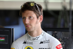 F1: Romain Grosjean, Lotus F1 Team