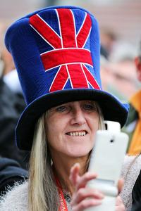 A british fan