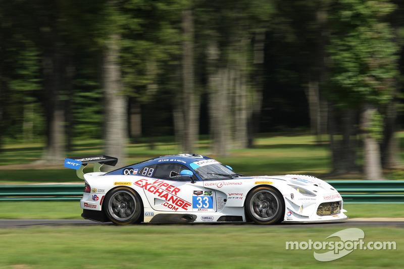 #33 Riley Motorsports SRT Viper GT3-R: Tony Ave & Ben Keating