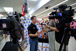A.J. Allmendinger, JTG Daugherty Racing Chevrolet visits Kansas as part of Chase across North America