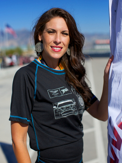 Aston Martin Flag Girl