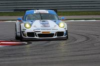 #18 Muehlner Motorsports America Porsche 911 GT America: Khaled Al Qubaisi, Larry Pegram
