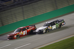 Landon Cassill and Sam Hornish Jr.