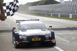 Mattias Ekström, Audi Sport Team Abt Sportsline, Audi RS 5 DTM takes the win