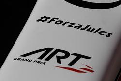 #ForzaJules on ART Grand Prix car