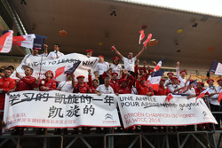 Celebrating Citroën's triumph in WTCC