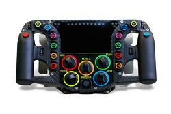 Porsche 919 Steering Wheel Detail