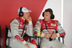 Loic Duval and Tom Kristensen