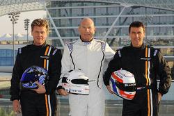 Peter Kox, Nico Pronk, Gilles Vannelet