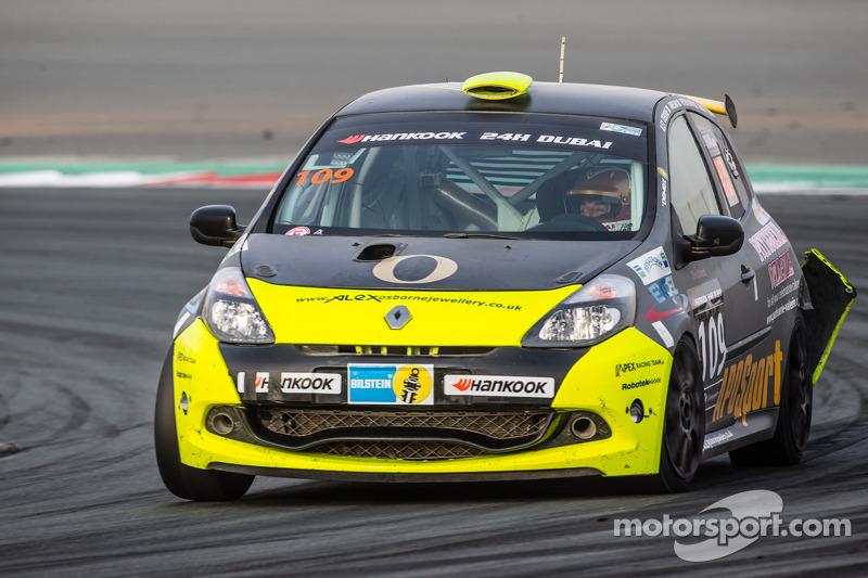 #109 APO Sport Renault Clio Cup: Alex Osborne, James May, Tim Gabor, Peter Venn, Paul May