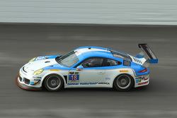 #18 Muehlner Motorsports America Porsche 911 GT America: Jim Michaelian, Marc Basseng, Matteo Beretta, Darryl O'Young, Connor de Phillippi