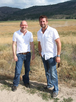 Jacques Villeneuve and Trevor Seibert
